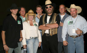 Hank Williams, Jr & Fans.